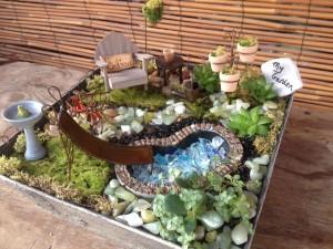 Small Smaller Smallest Miniature Gardens Oak Street
