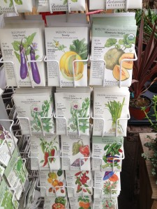 Warm season vegetable seeds...eggplant, peppers, melons and more!