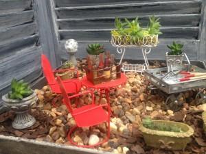 it's a garden party...