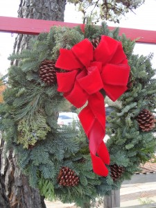 wreath from the west coast...