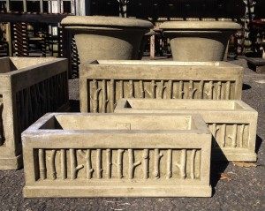 cast stone window boxes