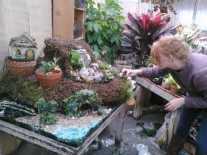 Lauren, Adding Plants...