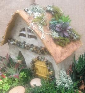 The cottage Jamie embellished...