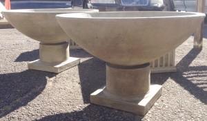 Cast Stone Urns