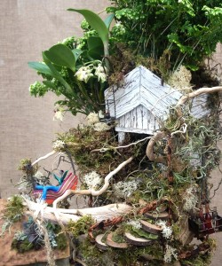 Lauren's treehouse...