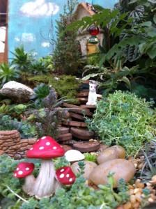 A miniature landscape