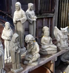 Cast stone statuary - 2015