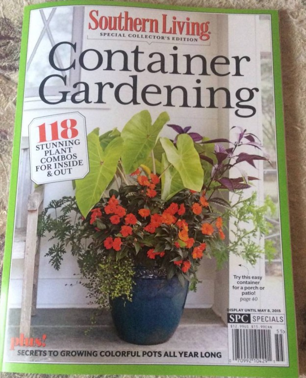 Heres A Look At Our Plantings in the Southern Living Magazines