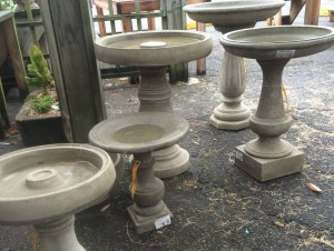 Statuary Bird Baths 2016