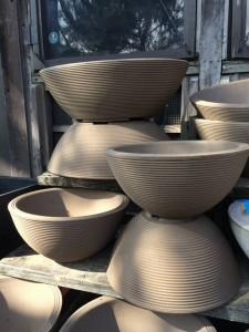 Lightweight Brown Bowls