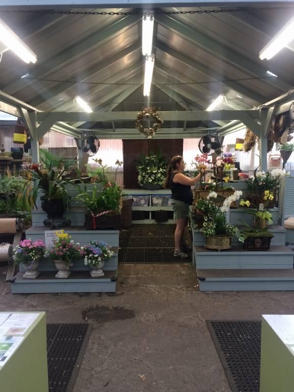 new work area oak street garden shop and local market