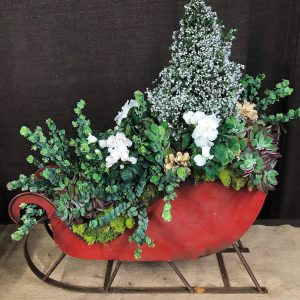 Holiday Sleigh Arrangement