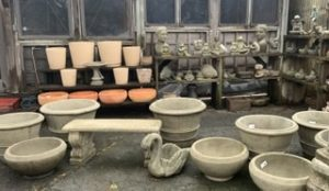 Outdoor Planters and Statuary 2020